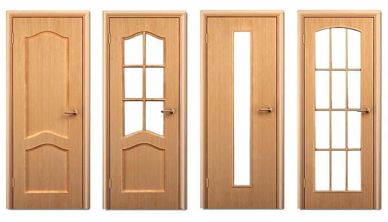 міжкімнатні двері фільончасті фото